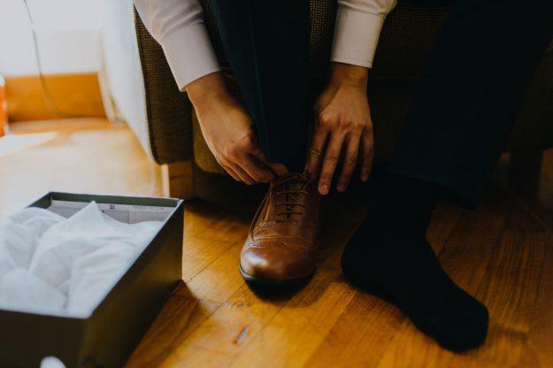 Buty na ślub dla pana młodego